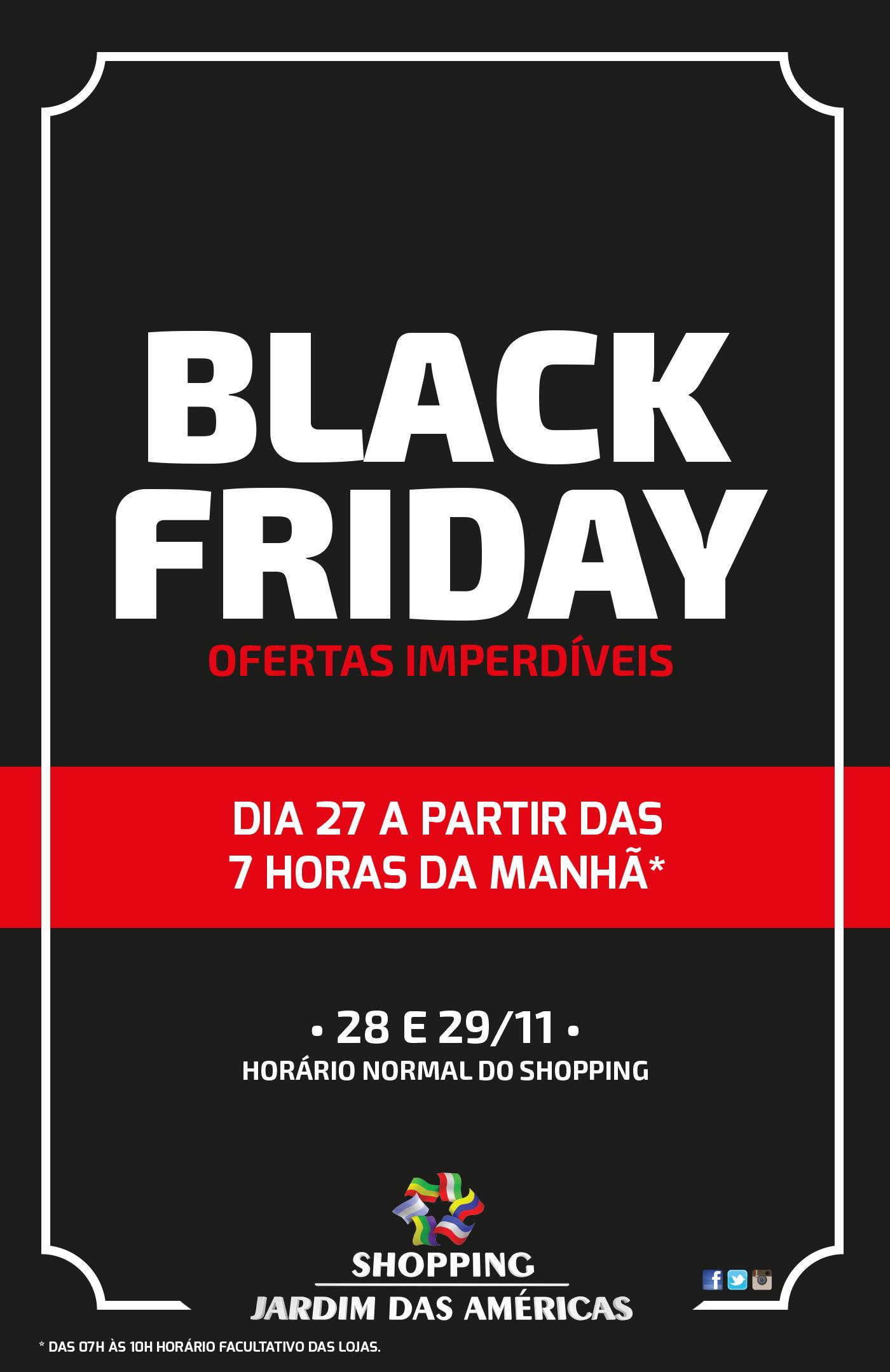 6fdc5373863 Black Friday no Shopping Jardim das Américas com promoções e horário ...